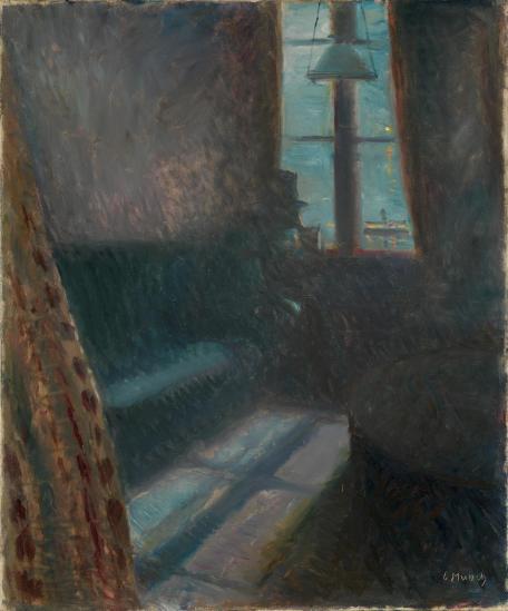 Night in St Cloud, Edvard Munch